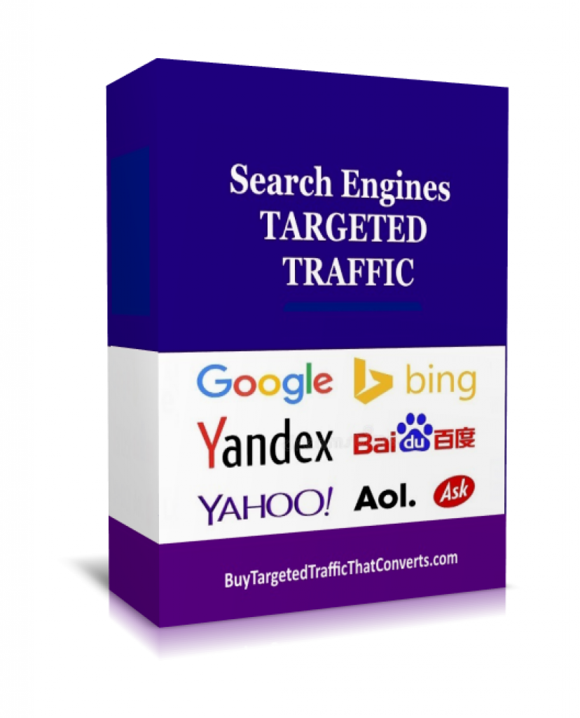 buy organic traffic, search engine traffic, google traffic, yahoo traffic