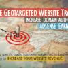 website targeted traffic